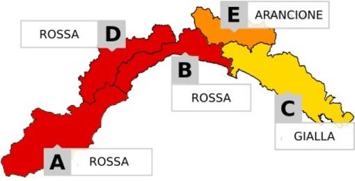 Allerta ROSSA per il maltempo annunciato sulla nostra provincia dalle 6 alla mezzanotte di domani (Video)