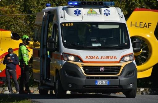 San Biagio della Cima: incidente in campagna, cade in una fascia mentre lavora. Interviene l'elicottero