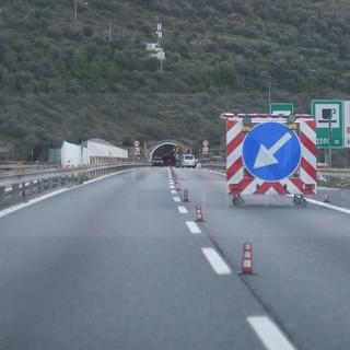 Viabilità: i cantieri dal 26 luglio al 1° agosto sulla Torino-Savona e Savona-Ventimiglia