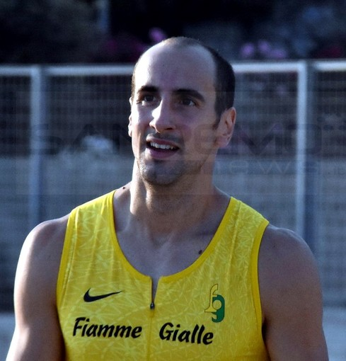 """Atletica: Davide Re ieri in gara sui 200 metri a Sanremo """"Stiamo vivendo una stagione particolare, mi preparo per le Olimpiadi"""" (Foto e Video)"""