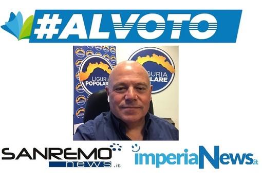 """#alvoto – Antonio Bissolotti (Liguria Popolare): """"Entusiasmo e competenza nell'interesse della Liguria e di questo territorio in particolare"""""""