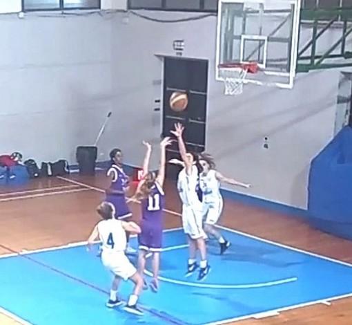 Basket, Serie C femminile. Blue Ponente superato dall'Auxilium Genova (VIDEO)