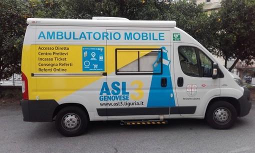 L'ambulatorio mobile dell'Asl 3