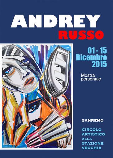 Sanremo: fino al 15 Dicembre aperta la mostra del pittore Andrey Russo, artista internazionale