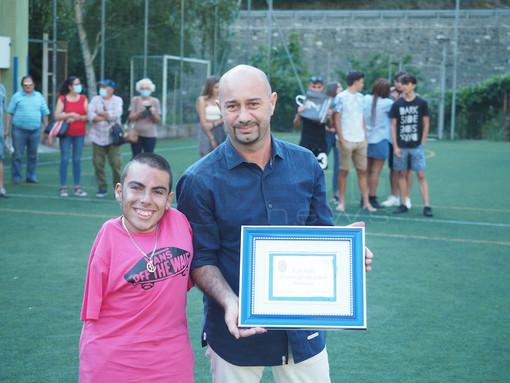 """Calcio: Vincenzo Stragapede si congeda dall'Ospedaletti: """"Due anni e mezzo meravigliosi, ho sempre dato il massimo"""""""
