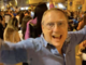 Andrea Artioli tra i festeggiamenti di via Roma