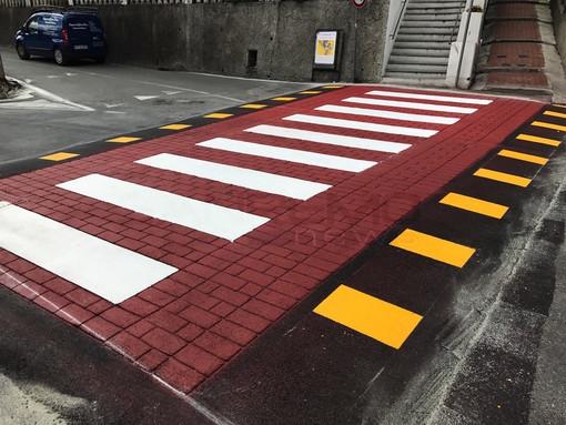 Sanremo: in via Duca degli Abruzzi arrivano due attraversamenti pedonali rialzati, in settimana il via ai lavori