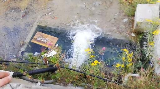 Ventimiglia: residenti segnalano uno 'sversamento' di acqua nel Roya, ma sono le normali manovre dopo i lavori Amaie (Video)