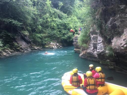 Sanremo: gli studenti dell'Istituto 'Ruffini-Aicardi' al centro sportivo 'Ke rafting'