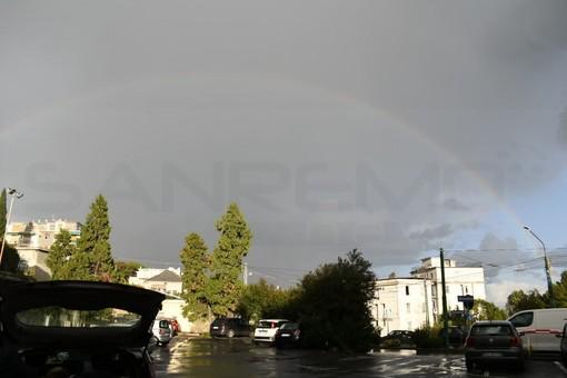 Maltempo: temporali e forti acquazzoni sulla nostra provincia, alla fine anche lo spettacolo dell'arcobaleno (Foto)