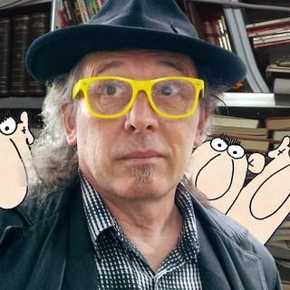 Sanremo: investito da una moto in via Francia, in ospedale il noto vignettista Alessandro Palex Prevosto