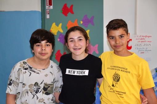 Da sinistra: Adam Harakat, Paola Almerighi e Alessandro Verrando