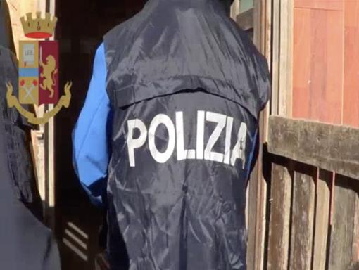 L'operazione della Polizia a Camporosso