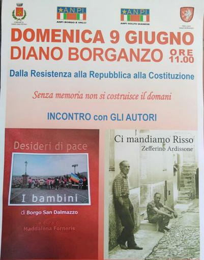 Domenica prossima al 'Giardino dei Diritti' l'evento 'Dalla resistenza alla Repubblica, alla Costituzione'
