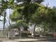 La zona transennata a Grimaldi