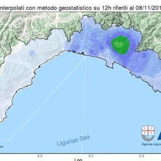 Maltempo in Liguria: Arpal conferma la chiusura dell'allerta meteo per le 15 di oggi