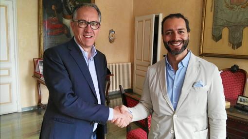 Sanremo: Olmo Romeo ha firmato le dimissioni da Consigliere ed ha salutato il Sindaco Alberto Biancheri