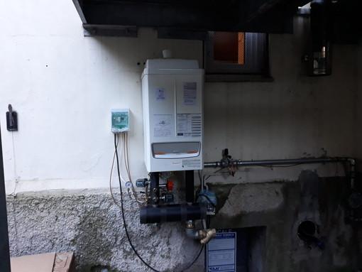 Ventimiglia: dopo l'acquazzone di mercoledì e la rottura della caldaia, domani tutto torna a posto alla scuola di Torri (Foto)