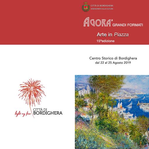 """Domani a Bordighera ritorna """"Agorà-Arte in Piazza"""""""