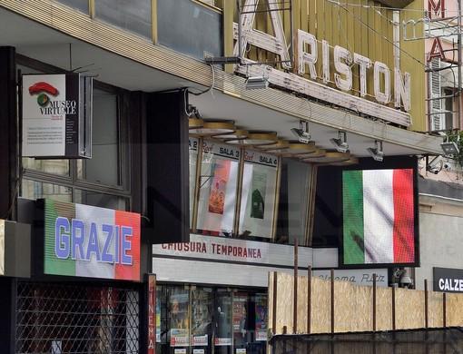 Sanremo: rinviato come da disposizioni ministeriali lo spettacolo previsto domani al teatro Ariston