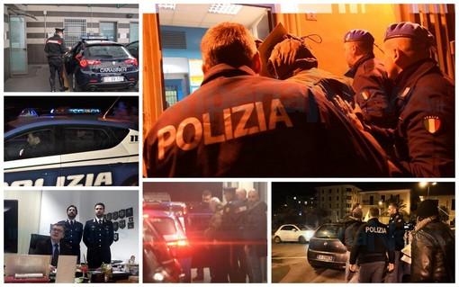 Imperia: alle 23.30 termina la lunga giornata di Domenico Ferraro, per lui si spalancano le porte del carcere (Foto e Video)