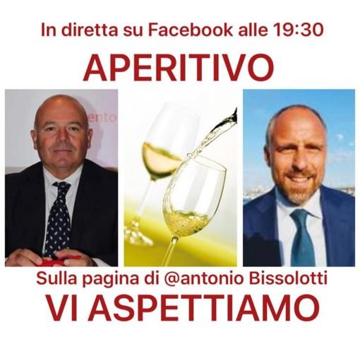 Sanremo: questa sera l'aperitivo 'virtuale' di Antonio Bissolotti per la Festa della Regpubblica
