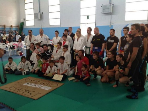 Ventimiglia: 2.000 euro raccolti il 2 giugno scorso con la manifestazione 'Arti marziali Vs Malattie genetiche'