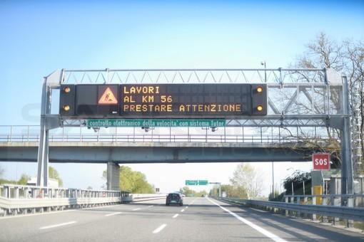 Viabilità: i cantieri della prossima settimana sul Tronco A6 (Torino/Savona) e sul Tronco A10 (Savona/Confine di Stato)