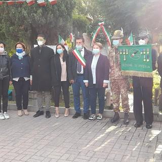 A Vallecrosia la cerimonia per il 149° anniversario delle truppe alpine (Foto)