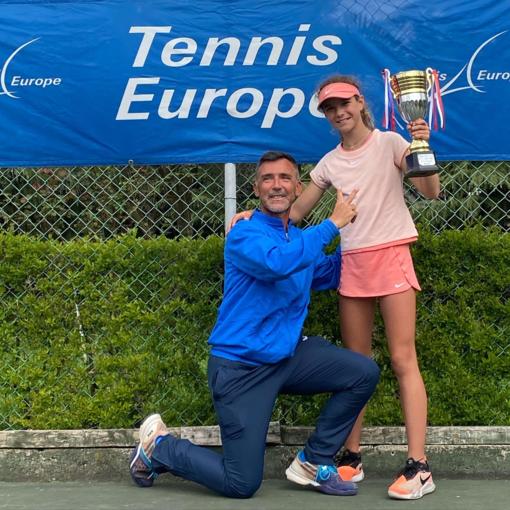 Tennis: una super Angelica Sara del Tennis Sanremo vince due tornei internazionali