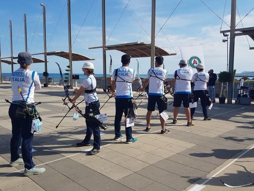 Tiro con l'arco: gli arcieri delll'Archery Club Ventimiglia al Trofeo 'Rosa dei Venti'