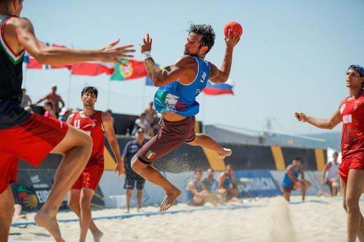 Tre ventimigliesi alla Champion's Cup  di Beach Handball: Alessio D'Attis, Alessandro Benini e Mehdi Bennari nel 'Team Blue'