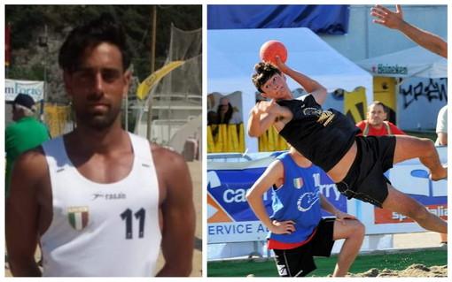 Alessio D'Attis e Alessandro Benini della Pallamano Ventimiglia convocati in Nazionale di Beach Handball
