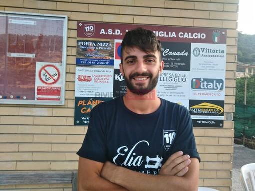 Alessandro Scappatura, attaccante del Ventimiglia