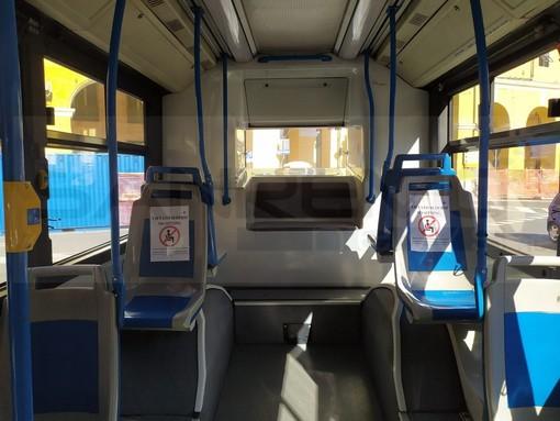 Un autobus della Riviera Trasporti