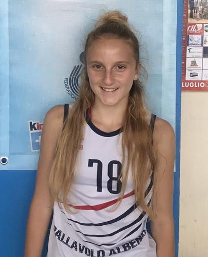 Pallavolo: la promettente 14enne Beatrice Carnabuci dalla Maurina Volley all'Albenga in Serie C