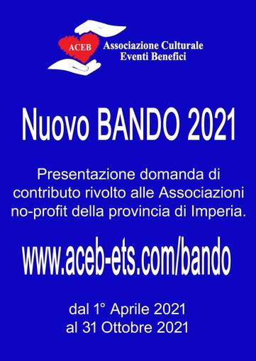 Nuovo bando di ACEB Camporosso per le associazioni no profit della provincia