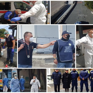 Diano Marina: 1755 ore di pattugliamento della polizia municipale in contrasto alla diffusione del coronavirus nel 2020 (Foto)