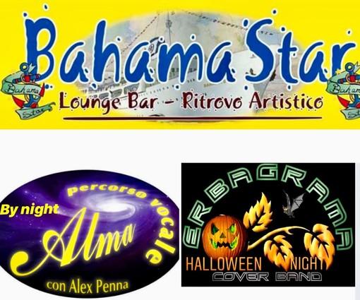Per il fine settimana di Halloween trilogia di eventi al Bahama Star