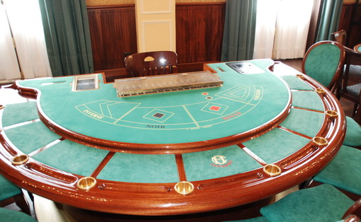Un tavolo del Black Jack