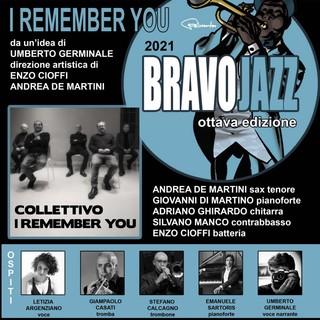 """Sanremo: questa sera in piazza Borea d'Olmo l'ottava edizione di Bravo Jazz con """"I remember you"""""""