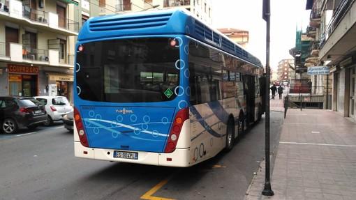 Arma di Taggia: un altro bus ad idrogeno in panne, l'avvio del servizio è davvero sfortunato (Foto)