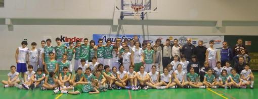 Pallacanestro: a Diano Marina quest'oggi è iniziata la giornata nazionale all'insegna del basket