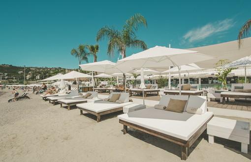 Sanremo: il Boca Beach nuovo trend della spiaggia che accontenta tutti