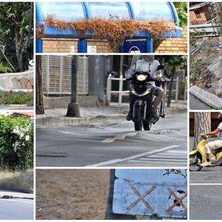 """Sanremo: alta velocità e asfalto disastrato, un grido d'allarme da via Padre Semeria """"Ormai siamo abituati all'indifferenza dell'amministrazione"""""""