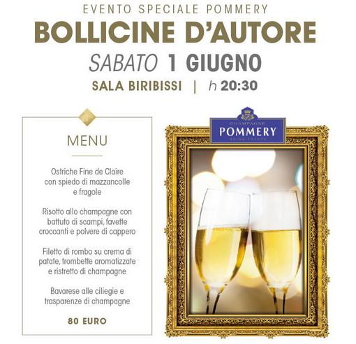 Sanremo: sabato prossimo al Casinò l'appuntamenti 'Bollicine d'autore' con lo Champagne Pommery