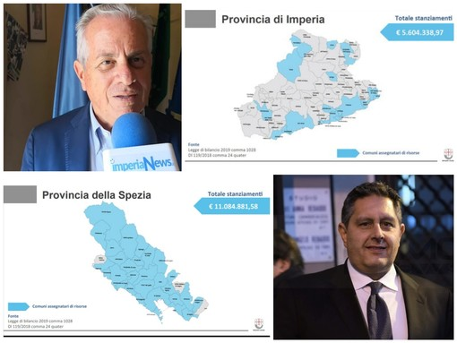 """5,6 milioni alla Provincia di Imperia per i danni del maltempo, Scajola """"Perplesso e insoddisfatto, ne parlerò con Toti"""" (Video)"""