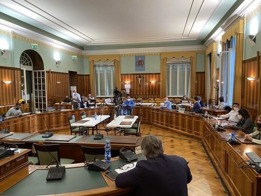 Il consiglio comunale di Sanremo