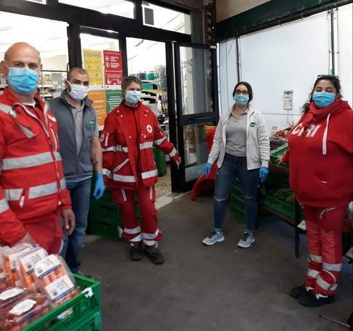 Ventimiglia: importante collaborazione tra la Croce Rossa e Arimondo per il 'Carrello della Solidarietà'