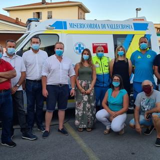 Vallecrosia: insediati ieri sera i nuovi organi sociali della Croce Azzurra Misericordia, tutti gli incarichi